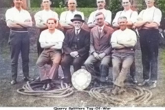 Delabole Quarry Tug o' War Team - late 20s.