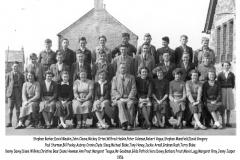 Delabole School - 1956.