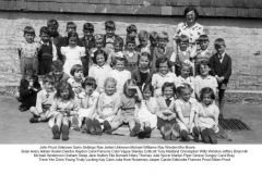 Delabole-School-Mrs-Moores-class-Abt.-195556