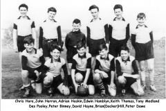 Delabole School football team - Abt. 1960