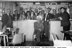 Delabole Working Men's Club regulars - 1970s