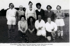 Delabole ladies football team - Abt. 1960