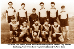 Delabole school football team 1959