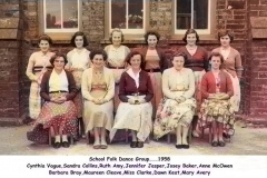School dance group 1958